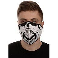 EMERZE maska neoprenová Skull, černá/bílá - Maska