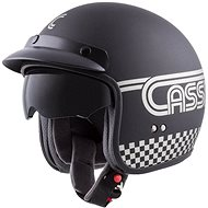 CASSIDA Oxygen Rondo, (černá matná/stříbrná, vel. XL) - Helma na motorku