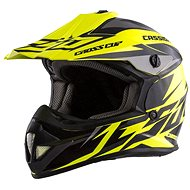 CASSIDA Cross Cup Two Kids, (yellow fluo / black / gray, size S) - Motorbike helmet