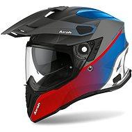 AIROH COMMANDER PROGRESS červená/modrá-matná L - Helma na motorku