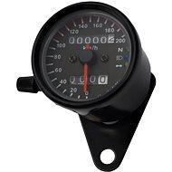M-Style Mechanický analogový tachometr  na motocykl retro 200 černý - Příslušenství
