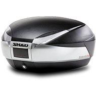 SHAD Vrchní kufr na motorku  SH48 nový titan se zámkem PREMIUM SMART - Kufr na motorku