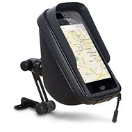 """SHAD Rear View Mirror Smartphone Holder with Storage (1L), 6.6"""" - Universal Mount"""
