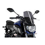PUIG NEW. GEN SPORT Dark Smoky for YAMAHA MT-07 (2018-2019) - Motorcycle Plexiglass