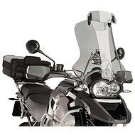 PUIG Additional visor for motorcycle adjustable clip-on smoke for SUZUKI DL 650 V-Strom (2019) - Motorcycle Plexiglass