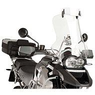 PUIG přídavné plexi na motorku nastavitelné clip-on průhledný - Plexi na moto