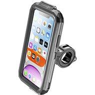 Držák na mobilní telefon Cellularline Interphone pro Apple iPhone 11 úchyt na řídítka černý