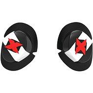 OXFORD Slidery Icon  (černé/bílé pár) - Slidery na kolena
