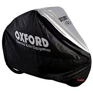 OXFORD Aquatex Motorcycle Cover (Black/Silver) - Motorcycle cover