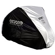 OXFORD Aquatex Cover for Two Bikes (Black/Silver) - Motorcycle cover