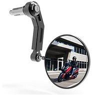 OXFORD do konců řidítek Premium ALU (černé, průměr zrcátka 94 mm) P - Zrcátko na motorku