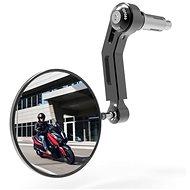 OXFORD do konců řidítek Premium ALU (černé, průměr zrcátka 94 mm) L - Zrcátko na motorku