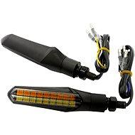 M-Style Flow Duo LED blinkry přední pár  - Blinkry na motorku