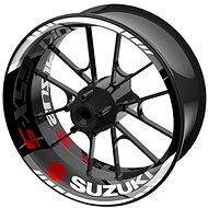 M-Style jednodílné polepy na kola SUZUKI GSX-S