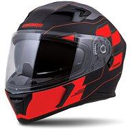 CASSIDA Integral 3.0 RoxoR,  (černá matná/červená fluo/šedá, vel. S) - Helma na motorku