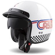 CASSIDA Oxygen Rondo,  (bílá/červená/modrá/černá, vel. 2XL) - Helma na motorku