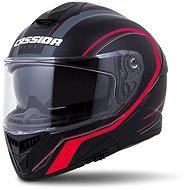 CASSIDA Integral GT 2.0 Reptyl, (Black/Red Fluo/White, Size L) - Motorbike Helmet