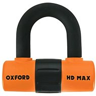 OXFORD Zámek U profil HD Max, (oranžový/černý, průměr čepu 14 mm)