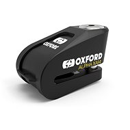 OXFORD Zámek kotoučové brzdy Alpha Alarm XA14 (integrovaný alarm, černý, průměr čepu 14 mm) - Zámek na motorku