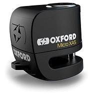 OXFORD Zámek kotoučové brzdy Micro XA5 (integrovaný alarm, černý, průměr čepu 5,5 mm) - Zámek na motorku