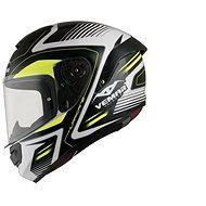 VEMAR Hurricane Laser (bílá/žlutá fluo/černá, vel. 2XL) - Helma na motorku