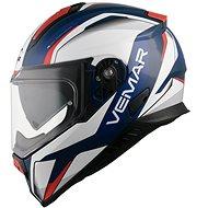 VEMAR Zephir Lunar (tmavě modrá/bílá/červená, vel. XS) - Helma na motorku