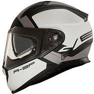 VEMAR Zephir Mars (matná bílá/stříbrná, vel. XL) - Helma na motorku