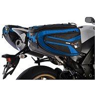 OXFORD Boční brašny na motocykl P50R (černé/modré, objem 50 l, pár) - Brašna na motorku
