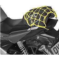 OXFORD Pružná zavazadlová síť pro motocykly (27 x 25 cm, žlutá fluo/reflexní) - Síť