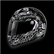 AIROH ASTER-X SCORPION BAY ASSB17 - integrální helma L - Helma na motorku