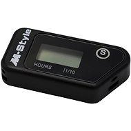 M-Style bezdrátový vibrační automatický měřič motohodiny - Měřič