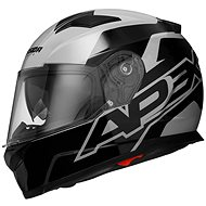 CASSIDA Apex Contrast (šedá/černá) - Helma na motorku