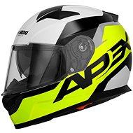 CASSIDA Apex Contrast (žlutá fluorescentní/černá/bílá/šedá) - Helma na motorku