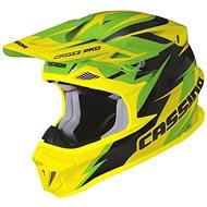 CASSIDA Cross Pro (zelená/žlutá fluo/černá) - Helma na motorku
