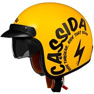 CASSIDA Oxygen Gear (žlutá/černá) - Helma na skútr