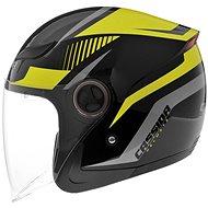 CASSIDA Reflex (černá/žlutá fluo/šedá) - Helma na skútr