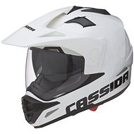 CASSIDA Tour (white) - Motorbike helmet
