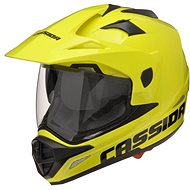 CASSIDA Tour (žlutá fluo) - Helma na motorku