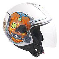 CGM Racing Cancun - bílá - Helma na skútr