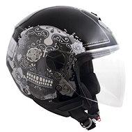 CGM Racing Cancun - černá - Helma na skútr