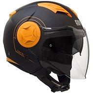 CGM Dixon - oranžová - Helma na skútr
