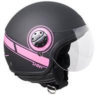 CGM Shiny - růžová - Helma na skútr