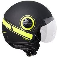 CGM Shiny - žlutá - Helma na skútr
