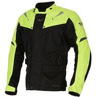 AYRTON Arcon, black / yellow fluorescent - Motorcycle jacket
