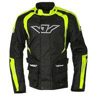 AYRTON Bruno, black / yellow fluorescent - Motorcycle jacket