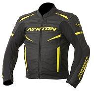 AYRTON Raptor, černá/žlutá fluorescentní - Bunda na motorku