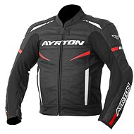AYRTON Raptor, black / red fluorescent / white - Motorcycle jacket