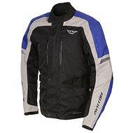 AYRTON Tonny, black / gray / blue - Motorcycle jacket