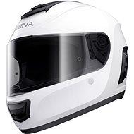SENA Momentum + headset, (lesklá bílá) - Helma na motorku