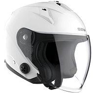 Econo, SENA (glossy white) - Motorbike helmet